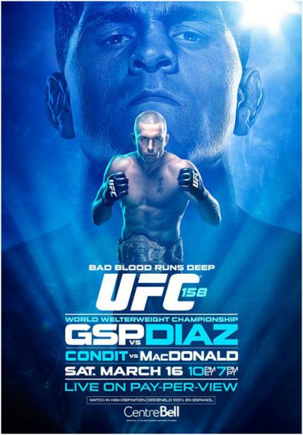 UFC-158 ジェイク・エレンバーガー vs ネイト・マーコート