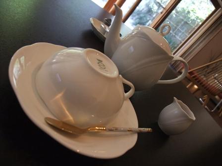 朝食 カフェ