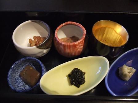 朝食 小鉢