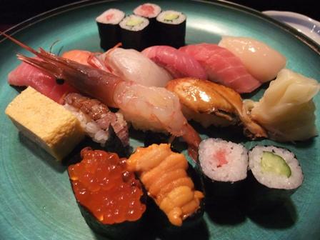 みなと寿司 特上にぎり