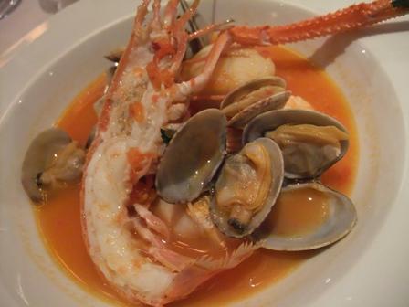 アンミラーレ フィレンツェ お魚