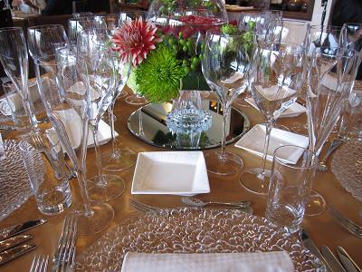 テーブル花-1