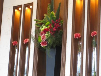 テーブル花-3