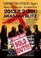 ガルネリウス赤坂BLITZ 20130202 SOLDポスター