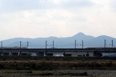 新幹線と鬼怒川