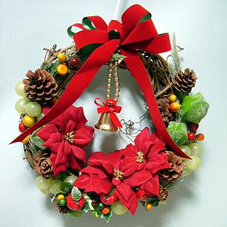 クリスマスリース #07