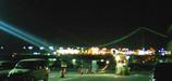 明石海峡大橋の夜景