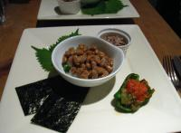 天然藁納豆と魚介類の爆弾