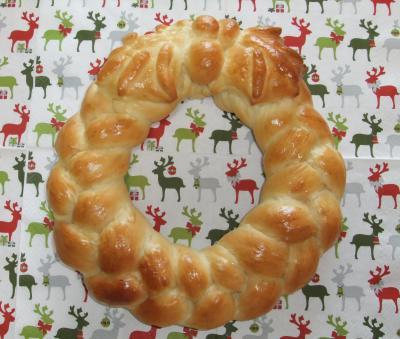 クリスマスリースパン2