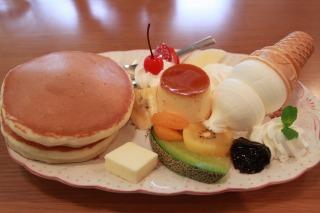 スペシャルホットケーキ