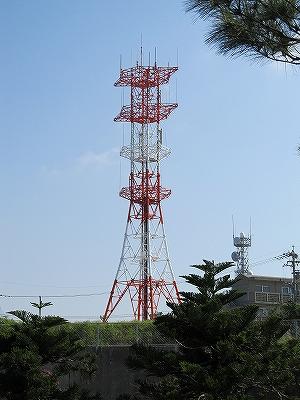 沖縄移動無線センターのアンテナ