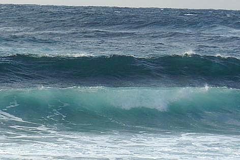 大波だ~♪