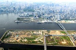 豊洲地区の新市場予定地