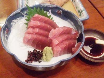 130724魚がし一番町店塩釜産生まぐろ刺380円