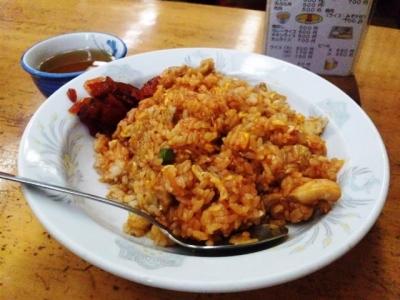 130925千成餅食堂チキンライス500円