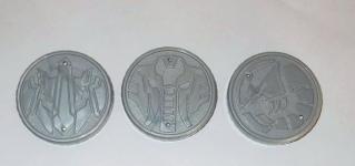 サイ、エビ、カニのセルメダル