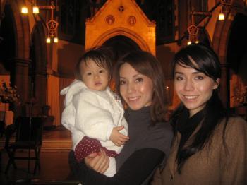 Yui baptism