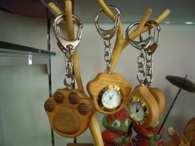 きかん舎ホルダー時計