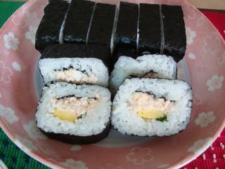 かに寿司♪