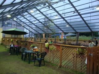 屋根つきドックラン