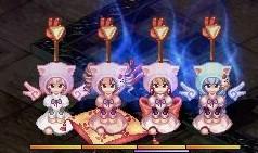 美人4姉妹チョキ