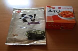 韓国のり&キムチ