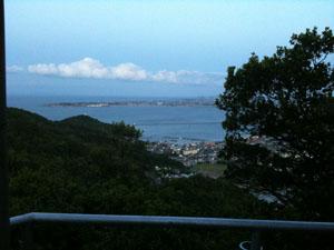 日の峰山より 和田島