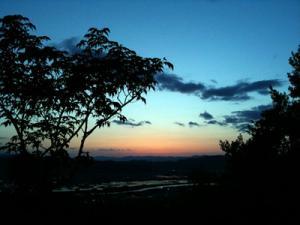 日の峰山より 西側