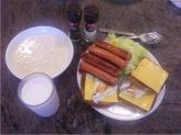 ホノルル最後の朝食