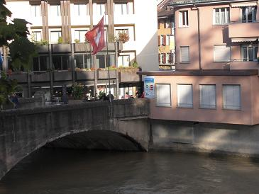 ドイツ側から見たスイス