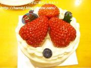 弘法屋のクリスマスケーキ