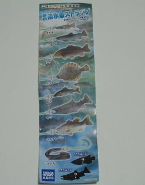 淡水魚ストラップ