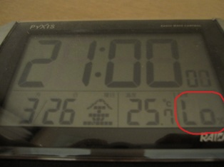 湿度測定不能