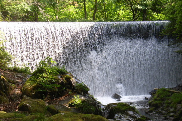 カーテン滝