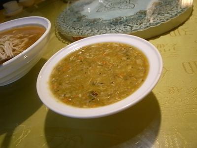 蟹味噌スープ