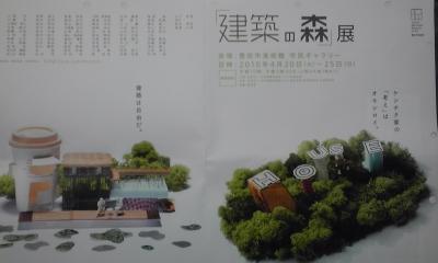 建築の森裏