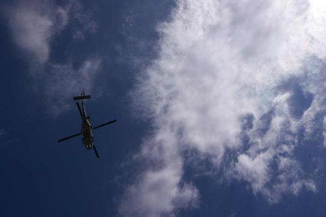 ⑤館山自衛隊ヘリ