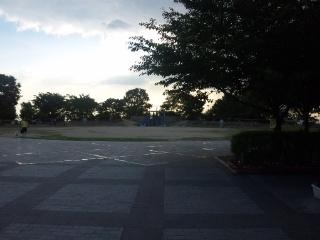 東石切公園風景