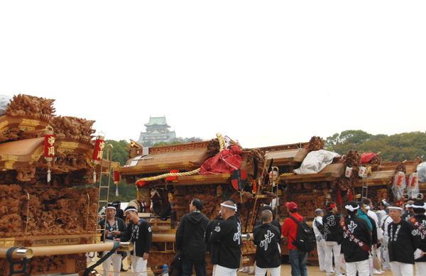 danjiri in osaka#11