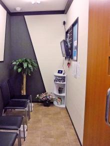 待合室です!
