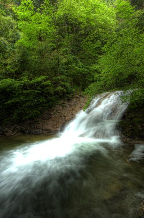 龍頭峡 bナメラ滝