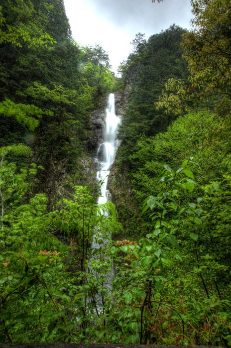 龍頭峡 b二段滝