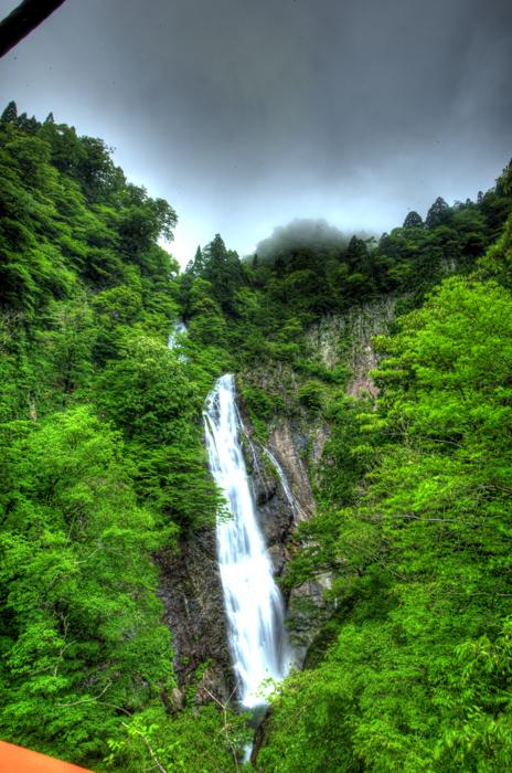三滝渓 千丈滝1kai