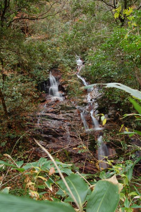 かまこしき渓谷 滑滝