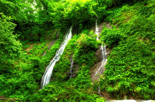 雨滝 布引の滝bb