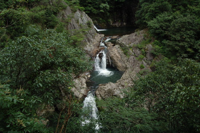千丈渓(一の滝)