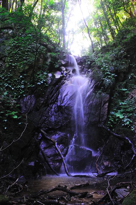 笏賀の不動滝2