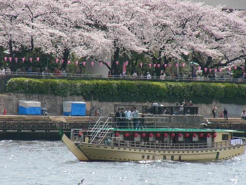 隅田川の屋形船