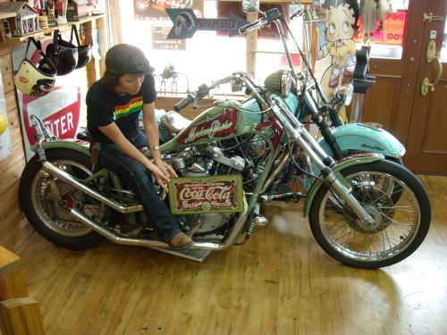 志穂さんのカスタムバイク 1