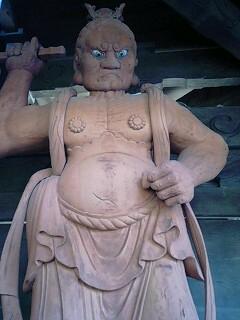 誕生寺仁王像